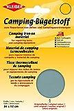 Kleiber - Parche de reparación termoadhesivo para Tiendas de campaña y toldos, 100% de Lona de algodón, Color Gris