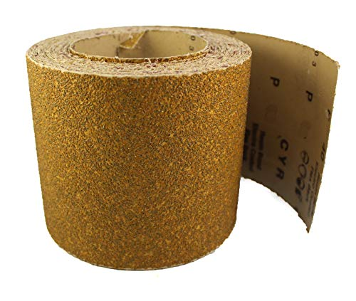 Karebac LR6C400 Premium Gold 6 PSA 400 C-Weight Aluminium Oxide Stearated 100 Sanding Discs//Linkroll Grit Sanding Discs