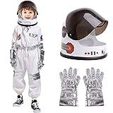 eccbox Astronaut Costume for Kids Space Pretend Role...