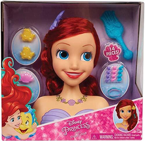 Collector Disney-Prinzessin Ariel Styling Head- Die Haarstyling-Möglichkeiten sind so endlos wie Ihre Fantasie!