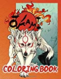 Okami Coloring Book: Okami Adult Coloring Books For Women And Men, Stress Relieving