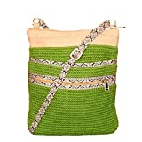 White Lotus Cross Body Hipster - Green (JB1001)