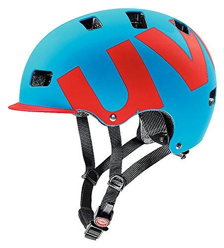 Uvex Radhelm HLMT 5 Bike Pro Casco de Ciclismo, Hombre, Azul/Rojo Mate,...