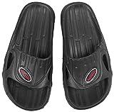 Aquaspeed - Set - Arizona Zapatillas de Baño + Toalla de Microfibra | Mujeres | Hombres | Sandalias de Ducha | Zapatillas de Playa, Tamaño:44, Color:Arizona - 07