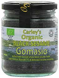 Made from freshly roasted organic black sesame seeds and cornish sea salt Contains only a tenth of the sodium content of ordinary salt Sprinkle onto noodles and mix into stir fries Use as cooking ingredient