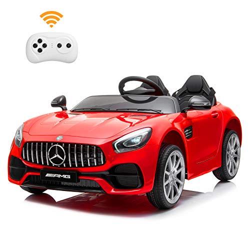 BAHOM Benz 12V Electric Ride On Car