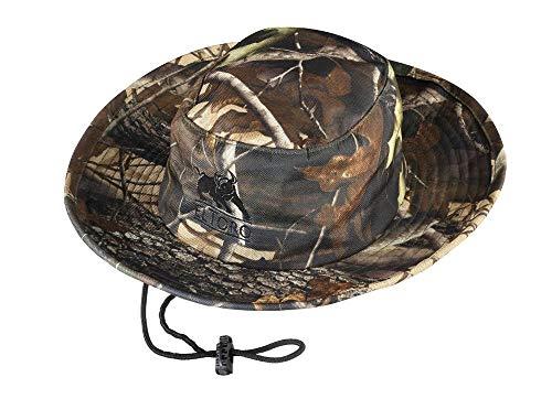 elToro Hut - Camo oder Schwarz (camo), ein idealer Begleiter, ob beim Bogensport, bei der Jagd oder beim Angeln