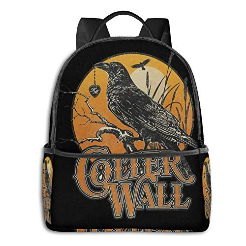 Colter Wall Laptop Backpack Fashion Theme School Backpack