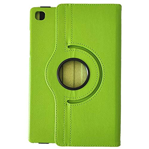 Funda de piel para Samsung Tab A 10.4 T500 A7 T500 Litchi giratoria Funda de piel verde_Taba7 T500