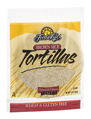 Gluten Free Tortilla Brown Rice Frozen - 12 oz (Pack of 12)