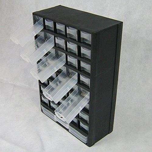 BUZE 41 Fächer Schütten Sortimentsschrank Sortimentskasten Kleinteilemagezin Kunststoff