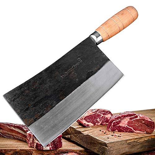 Asien-Metzger - Cuchillo picador, también universal, cuchillo de cocina y cuchillo de chef, el cuchillo especial para profesionales y aficionados a la cocina