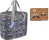 <span class='highlight'><span class='highlight'>Rammento</span></span> Large 24 Litre Cooler Bag Insulated 24 Litre Picnic Bag Ideal for BBQ (Grey)