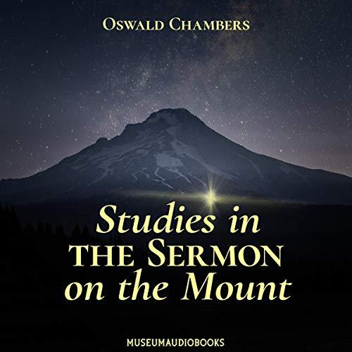 Studies in the Sermon on the Mount Titelbild