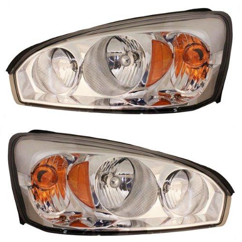 Koolzap For 04-08 Malibu Maxx Headlight Headlamp Head Light Lamp Left & Right Side Set PAIR