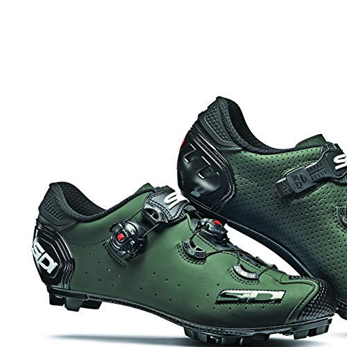 Sidi Jarin Cycling Shoe - Men's Olive Green, 40