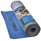 MP Global Products QuietWalk Laminate Flooring Underlayment with Attached Vapor Barrier Offering Superior...