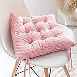 Cojines para Muebles de jardín Lounge sillas de Mimbre de Exterior Asiento Grueso Acolchado Aprox. 40x40x10