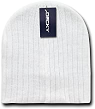 DECKY Cable Beanies, White