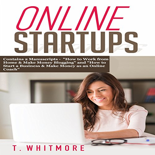 Online Startups: 2 Manuscripts audiobook cover art