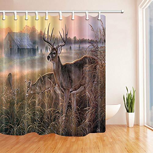 cortinas de baño largas
