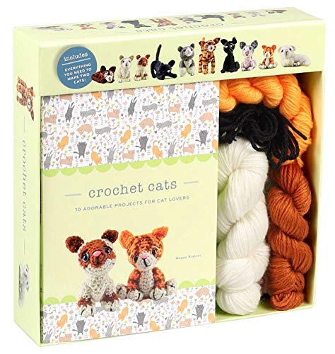 Crochet Cats: 10 Adorable Projects for Cat Lovers (Crochet Kits)