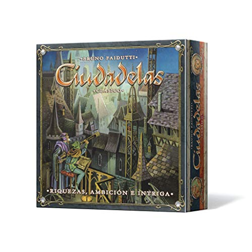 Asmodee - Ciudadelas Clásico, juego de mesa (Edge Entertainment EDGCTD01) , color modelo surtido