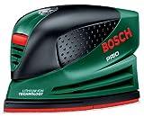 Bosch PRIO - Lijadora (700 g, 140 x 190 x 268 mm, accu, Litio-Ion, 1.3 Ah, 7.2 V)