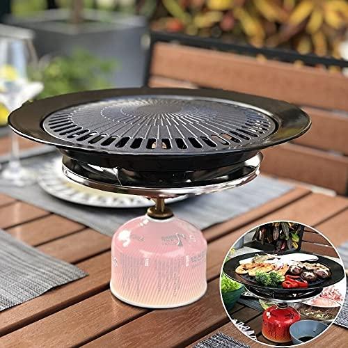 Placa de gas de la parrilla del gas de la parrilla del gas coreano portátil coreano BARBACOA Posición de la herramienta de cocción de tostado232