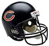 Réplica de Casco de fútbol Americano NFL de los Arizona Cardinals, Mujer Infantil Unisex Hombre, 30504, Chicago Bears