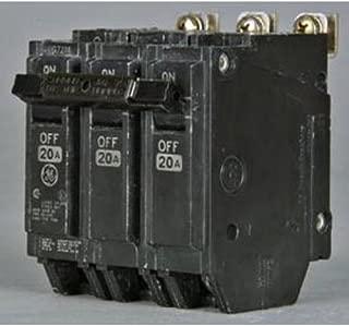 GE THQB32060 Bolt-On Mount Type THQB Miniature Circuit Breaker 3-Pole 60 Amp 240 Volt AC
