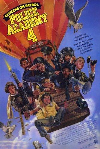 Police Academy 4 Citizens on Patrol Movie Poster (27,94 x 43,18 cm)
