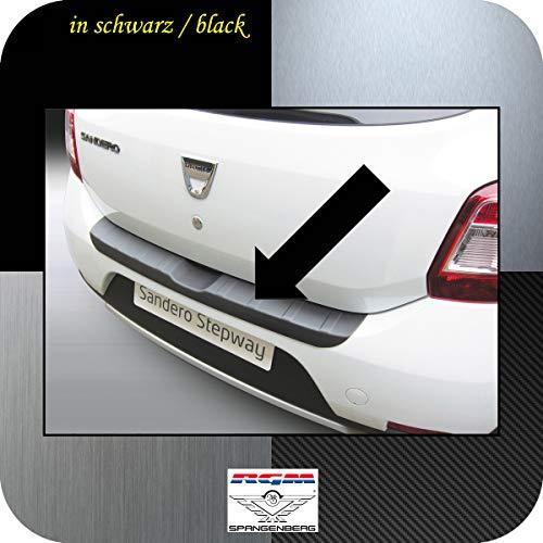 Richard Grant Mouldings Ltd. Original RGM Ladekantenschutz schwarz passend für Dacia Sandero II Schrägheck ab Baujahr 10.2012- auch Sandero Stepway RBP752