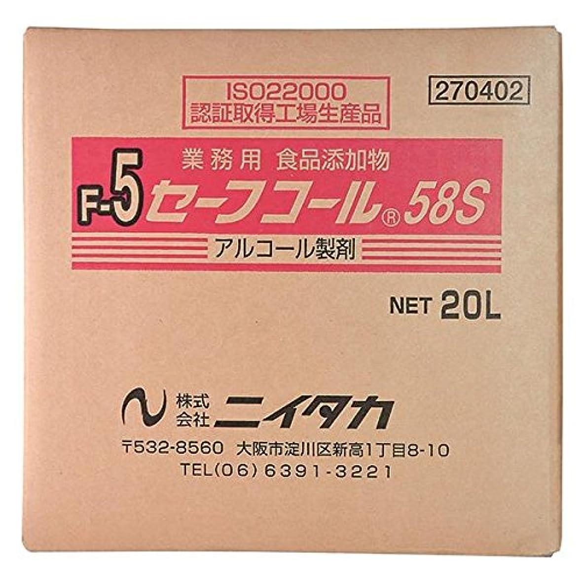 馬力ガスショットニイタカ:セーフコール58S(F-5) 20L(BIB) 270402