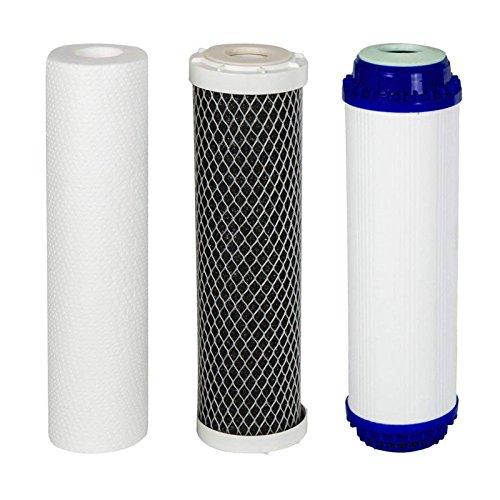 VYAIR AquaFilter 3er Set Ersatz Wasserfilter Kartuschen für RO-6 Umkehrosmose Reinigungsanlage