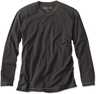 Orvis Men`s Montana Morning High V-Neck Long-Sleeved T-Shirt/Montana Morning High V-Neck Long-Sleeved T-Shirt
