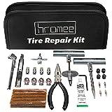Hromee 56 Pieces Tire Repair Tools Kit for Car, Trucks,...