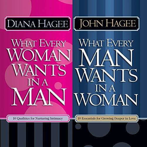 What Every Man Wants in a Woman; What Every Woman Wants in a Man                   By:                                                                                                                                 Diana Hagee,                                                                                        John Hagee                               Narrated by:                                                                                                                                 Tanya Eby,                                                                                        Patrick Lawlor                      Length: 10 hrs     12 ratings     Overall 4.3