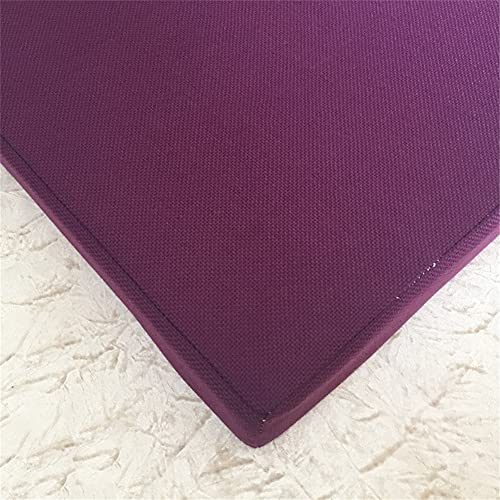 Penaio Cuscino per sedia in memory foam, comodo e solido, ergonomico, in fibra di poliestere, per interni, cucina, camera da letto, sedia e divano, 45 x 45 x 8 cm, colore lilla
