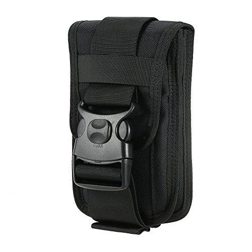 Walmeck- nylon Molle tas mobiele telefoon riem clip holster Utility gadget buidel tas Outdoor Gear voor iPhone