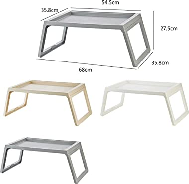 Laptop Desk Simple Portable Laptop Table Breakfast Table Lightweight Folding Bed Desk Student Dormitory Lazy Study Writing Ta