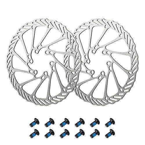 Newgoal 2 rotores de bicicleta de montaña 180mm, disco de freno de...