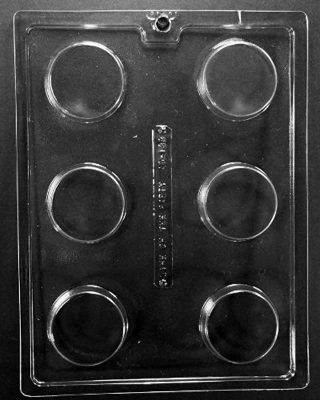 Plain Cookie Chocolate Mold AO138