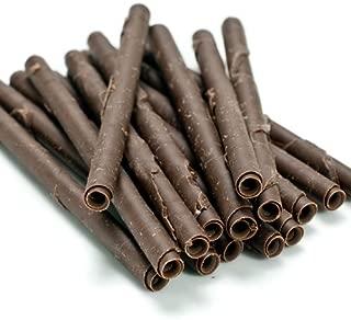 Palitos de cigarrillo - Chocolate negro, 4 pulgadas - 1 caja - 100 unidades