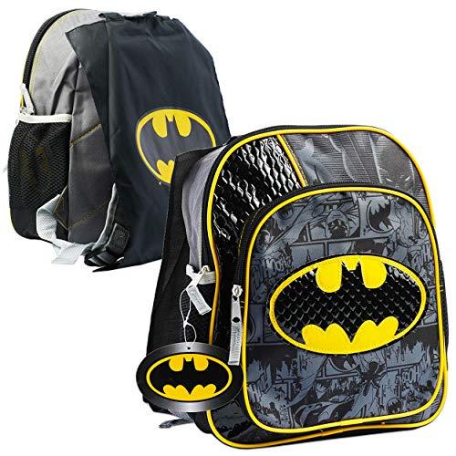 Kids Deluxe Batman Costumescape - Batman Backpack for Preschool Toddlers ~