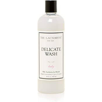 The Laundress - Delicate Wash, Lady Scented, Laundry Detergent for Delicates, Care for Fabric, Silk, Delicates Detergent, Synthetics and Blends, Allergen-Free, 16 fl oz, 32 washes