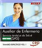 Auxiliar de Enfermería. Servicio Andaluz de Salud (SAS). Temario específico. Vol. I.: 2