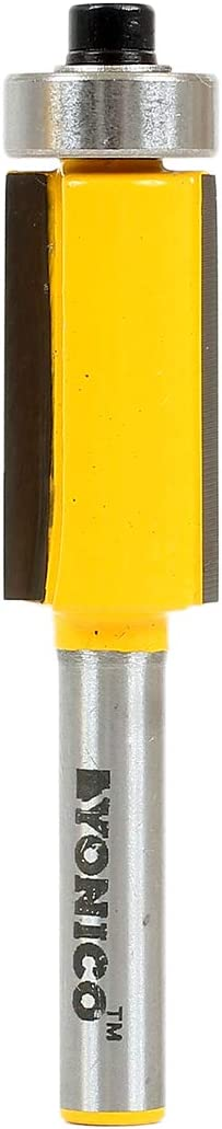 Sales for sale Yonico Router Bits Pattern Bit Flush 2-In 1-Inch Cheap SALE Start Trim 1 X Height