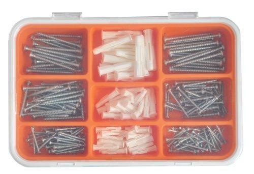 Ikea FIXA 260-delige schroef en plug-set, Model: 001.692.49, gereedschap & hardware winkel