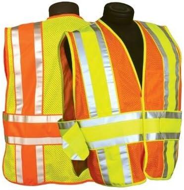 ML Kishigo - Ultra-Cool 4 Season Adjustable Mesh Vest, Class 2, color: Orange, size: 2X-large - 5X-large